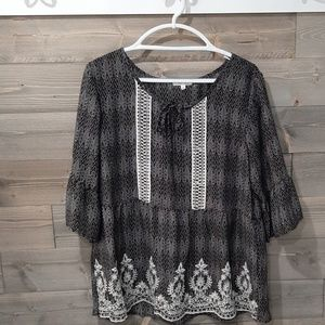 3/4 sleeve blouse from Maurices